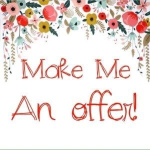 Don't be shy! I work with offers!